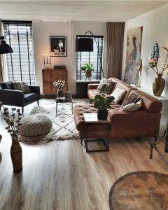 desain interior ruang keluarga minimalis modern, terkonsep