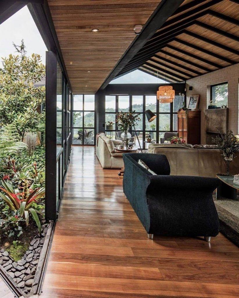 Desain Interior Rumah dengan Konsep Triangular Shaped ...