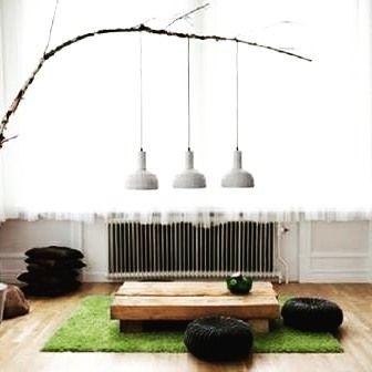 Desain Interior Ruang Tamu Lesehan Modernisasi Konsep Klasik Tradisional Menjadi Lebih Kekinian